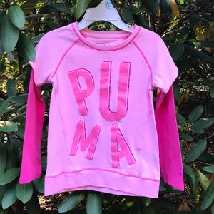 Puma Toddler Girl Long Sleeves Shirt *4T